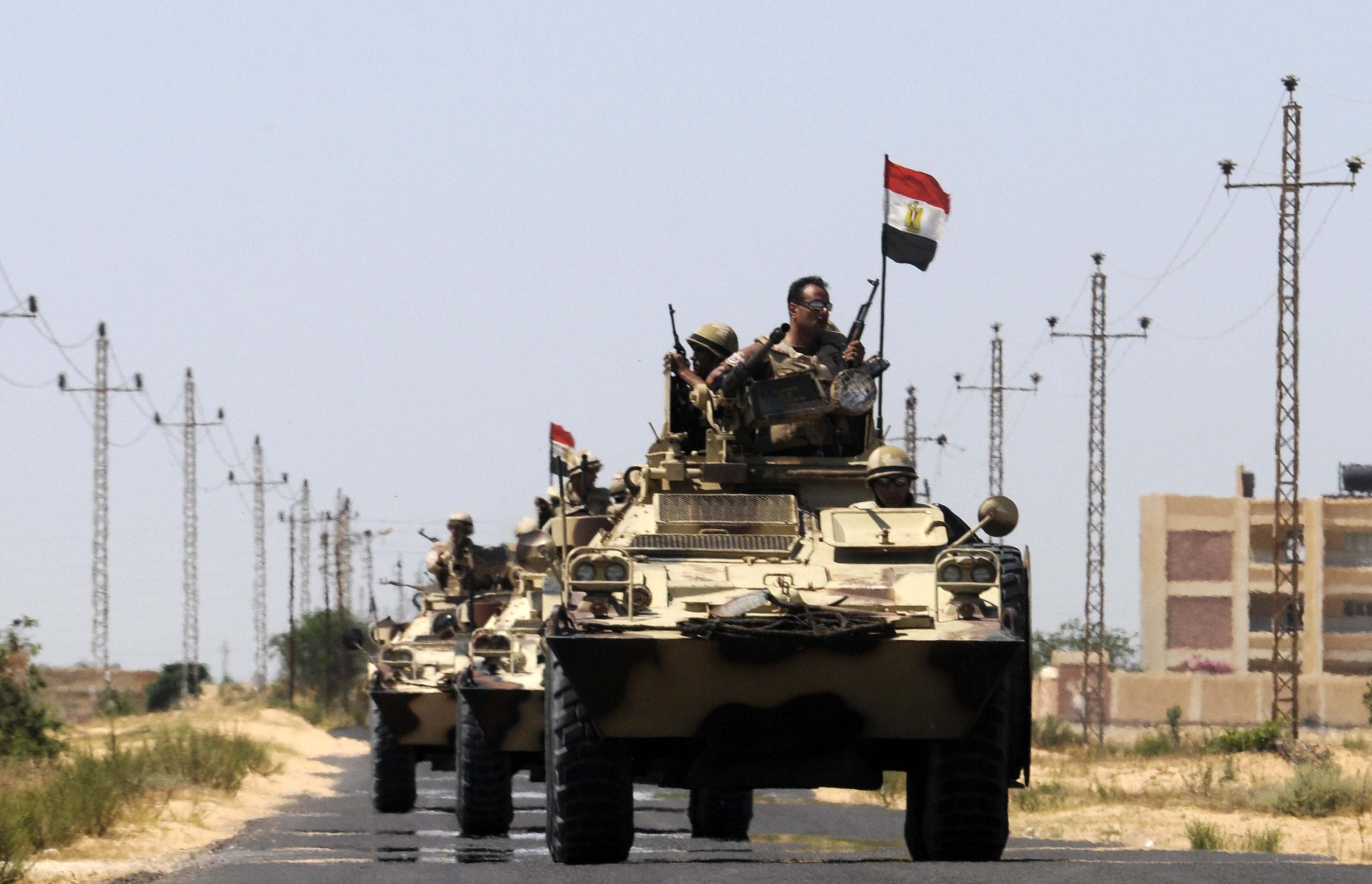 القوات المصرية في سيناء