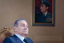 الرئيس الراحل مبارك